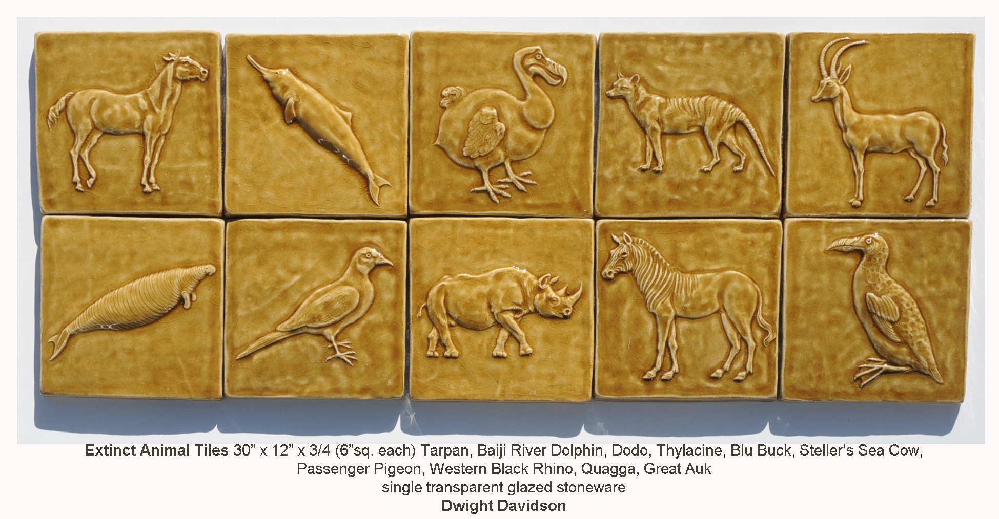 Tiles animal and insect glazed ceramic bas relief tiles doublecrazyfo Images